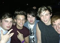 Louis with some friends last night!