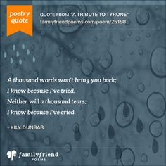 Remembering my mother today, found this site and these words they described how I was feeling.