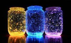 Toen ik zag dat je met een paar simpele glowsticks een prachtig verlichte pot kon maken, wilde ik er meteen ook een hebben!