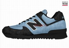 Joes New Balance 574 US574 Blue Dark Black The Dark Knight Womens Shoes