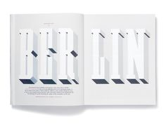 Studio8. Magazine layout.