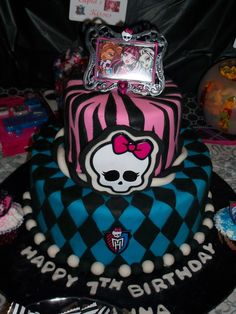 "Monster High / Birthday ""Arianna's 7th Birthday"" 