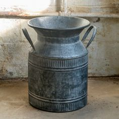 Large Inspired Antique Milk Can