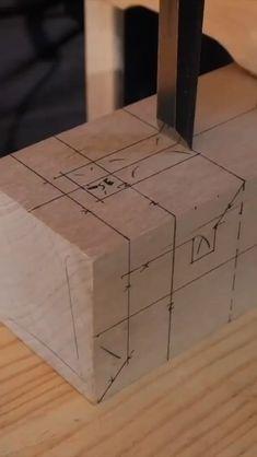 Interesante Woodworking Ideas Table, Unique Woodworking, Woodworking Joints, Easy Woodworking Projects, Woodworking Techniques, Woodworking Shop, Popular Woodworking, Easy Projects, Woodworking Plans