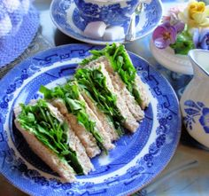 Victorian Watercress Tea Sandwiches for High Tea and Picnics - 250 years of the sandwich