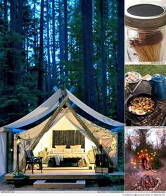 Cool Glamping Ideas - my favorite place is El Capitan Santa Barbara, CA