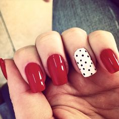 Unhas vermelhas decoradas red nails