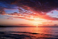 Sunset over Paradise