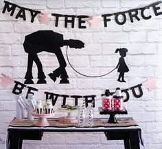 Fawn - Handcrafted Celebrations's Birthday / Star Wars - Pink and Sparkly Star Wars Party at Catch My Party Trolls Birthday Party, Girls Birthday Party Themes, Star Wars Birthday, Birthday Ideas, Happy Birthday, Girl Parties, Birthday Sayings, Birthday Crafts, Birthday Images