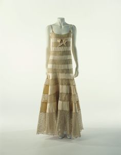 Evening Dress Coco Chanel, 1930 The Kyoto Costume Institute