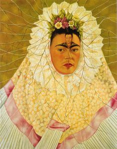 """Self Portrait as a Tehuana (Diego on My Mind)"" by Frida Kahlo"