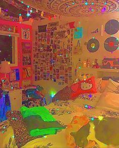 Indie Bedroom, Indie Room Decor, Cute Bedroom Decor, Aesthetic Room Decor, Room Ideas Bedroom, Aesthetic Indie, Bedroom Inspo, Chambre Indie, Chill Room