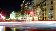 Lights on Pennsylvania Ave