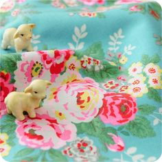 New Kidston Rose Fabric, heaven! - While the fabric is great I am totally in love with the little sheep :)
