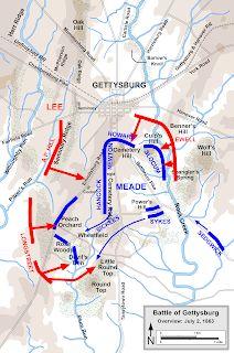 Gettysburg Map, Gettysburg Battlefield, American Civil War, History, Armies, Maps, Blog, Quilt, Military