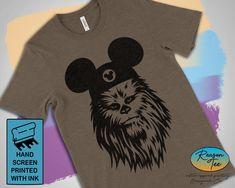 Chewbacca Shirt Star Wars Shirt custom Disney Shirts Chewie Shirt Star War Ear Shirt Galaxys Edge Shirt Chewbacca Ears shirt Unisex - Life Shirts - Ideas of Life Shirts -