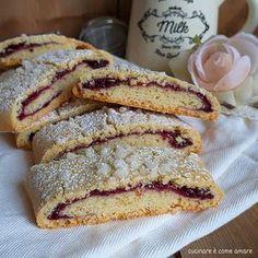 quick biscuit with jam filling cake wedding cake kindergeburtstag ohne backen rezepte schneller cake cake Quick Cookies, Jam Cookies, Biscotti Cookies, Cookies Soft, Italian Cookies, Italian Desserts, Ricotta, Quick Biscuits, Sugar Dough