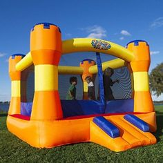 Blast Zone Play Palace Inflatable Bounce House by Blast Zone. Rating 4.8/5 stars,  27 customer reviews