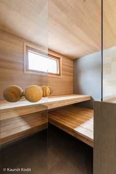 Suomen Tervaleppä - 20 years of high quality Finnish Sauna Design - Gallery Scandinavian Saunas, Scandinavian Design, Style At Home, Modern Saunas, Backyard Sitting Areas, Sauna House, Portable Sauna, Spa Treatment Room, Yellow Cabinets