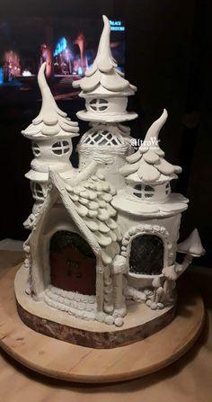 Clay Art Projects, Clay Pot Crafts, Jar Crafts, Clay Fairy House, Fairy Garden Houses, Mason Jar Garden, Aluminum Foil Art, Plastic Bottle Art, Rock Painting Patterns