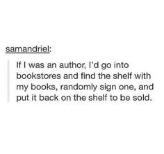 This is totally what I would do, just go to different city's and meet fans and sign books.