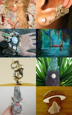 Fairies,Gnomes, and Mermaids by Linda and Billy on Etsy--Pinned with TreasuryPin.com
