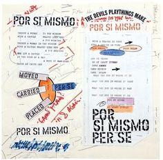 """Del 8 de marzo al 24 de junio el MACBA presenta """"Escrito en el viento"""", una visión de la obra de Lawrence Weiner (NY, 1942) a través de sus dibujos, probablemente la parte más desconocida de su producción. Una muestra de la visión del mundo más íntima del autor expresada con los medios más humildes: el lápiz, el papel y las palabras.  http://www.macba.cat"""