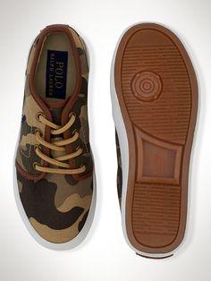 Ethan Low Sneaker - Junior 3.5-7  Shoes - RalphLauren.com