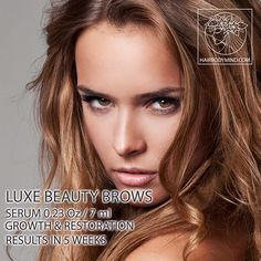 Restore your brows! Extra strong formula LUXE Beauty BROWS treats over-plucked/ aging / very damaged brows. Regrow brows in 5 weeks.💚💚💚Check out LUXE Beauty BROWS at our at website ➡ www.hairbodymind.com 20% off with coupon 20EXTRA💜or Click a link in a bio 🤗✔ 💜The Peptide Complex used in our eyelash and brow growth products is made up of beneficial amino acids, which are designed help stimulate dormant follicles to grow. Peptides are chains of amino acids, which are the building…