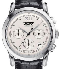 Tissot Heritage 1948 — Винтажный хронограф Тиссо