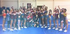 University of Oklahoma Cheer   Clients of OneHealthyBod  #Sooners #OneHealthyBod