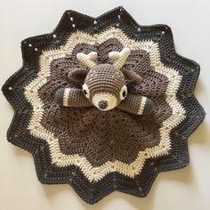 Crocheted Deer Lovey (Inspiration... No Pattern)