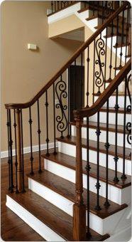 Stair Solution - Iron Design