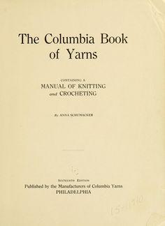 The Columbia book of yarns