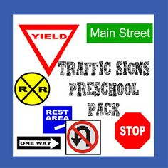 """These are awesome, FREE, packs! Although they are labeled """"preschool"""" they will work perfectly in my Special Education classroom!"""