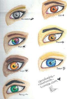 Percy Jackson Heroes of Olympus Fan Art | The sevens eyes.