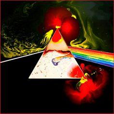 Pink Floyd - Dark Side of the Moon Liquid - A by Storm Thorgerson Pink Floyd Dark Side, Arte Pink Floyd, Pink Floyd Music, John Wetton, Dream Theater, Billy Idol, Abbey Road, Eric Singer, Storm Thorgerson