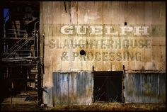 abandoned slaughterhouse by jody9, via Flickr