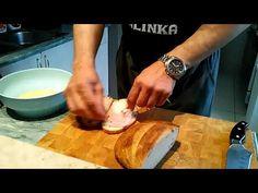 Töltött bundás kenyér ,toast sütőben 😄 - YouTube Ethnic Recipes, Youtube, Food, Essen, Meals, Youtubers, Yemek, Youtube Movies, Eten