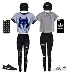 """Untitled #34"" by nuraypva on Polyvore featuring Ralph Lauren, Topshop, adidas Originals, NIKE, adidas, Nike Golf and J.Crew"