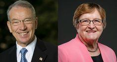 Democrat Patty Judge drove home campaign messages but Sen. Chuck Grassley made no serious gaffes and wasn't shaken.