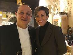 Il grazie dello chef Ciccio Sultano e della maitre Gabriella Cicero per i voti nel sondaggio di Italia a Tavola