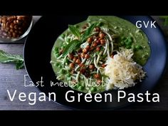 Vegan Green Pasta (East meets West) - YouTube Salty Foods, Cabbage, Pasta, Vegan, Vegetables, Green, Youtube, Cabbages, Vegetable Recipes