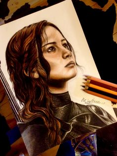 Katniss Everdeen! The Hunger Games! 👌🏼