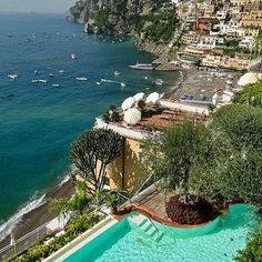Hotel Marincanto, Positano, Italy  Photo by @loucosporviagem