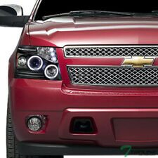 Topline For 2007 2013 Avalanche Tahoe Black Halo Led Projector