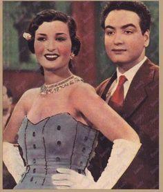 محمد فوزي و نعيمة عاكف