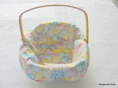 Basket Liner, Centerpiece, Table Topper, Bread Cloth, Easter, Decorated Pastel Easter Eggs, Handmade Table Linens