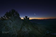The Name of the Rose - Rocca Calascio is a mountaintop fortress or rocca in the Province of L'Aquila in Abruzzo, Italy.