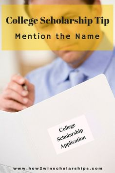 This college scholarship tip from Monica Matthews will impress the judges and make the essay stand-out and be more memorable.